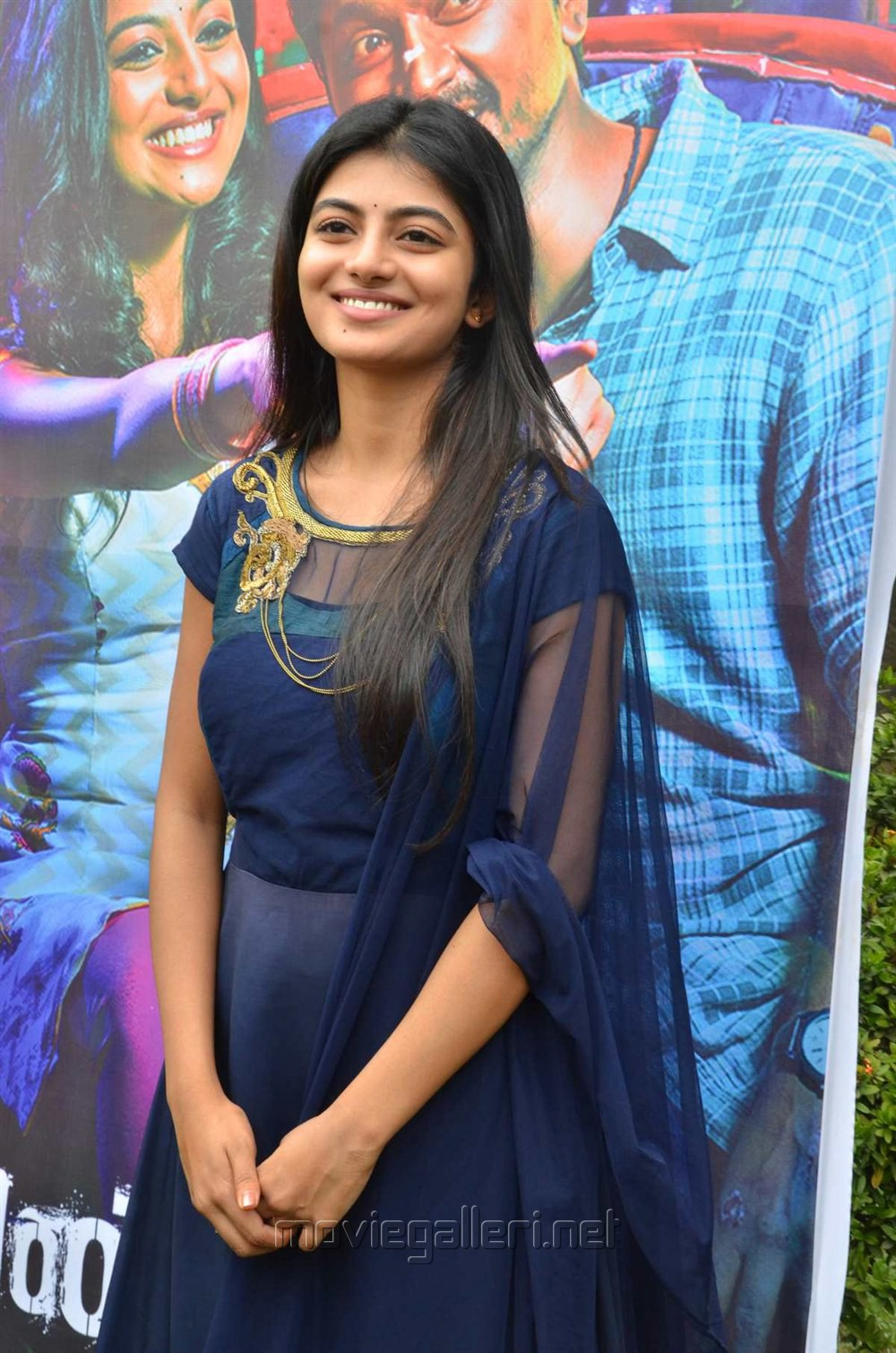 Actress Anandhi Cute Stills @ Pandigai Press Meet