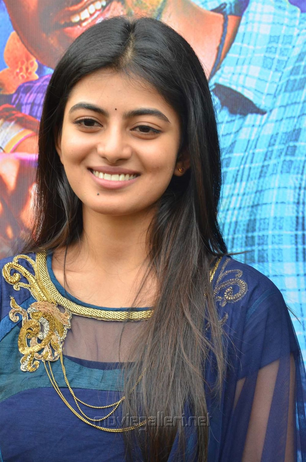 Tamil Actress Anandhi Stills @ Pandigai Movie Press Meet