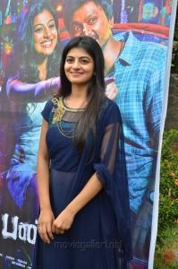Tamil Actress Anandhi Stills @ Pandigai Movie Press Meet