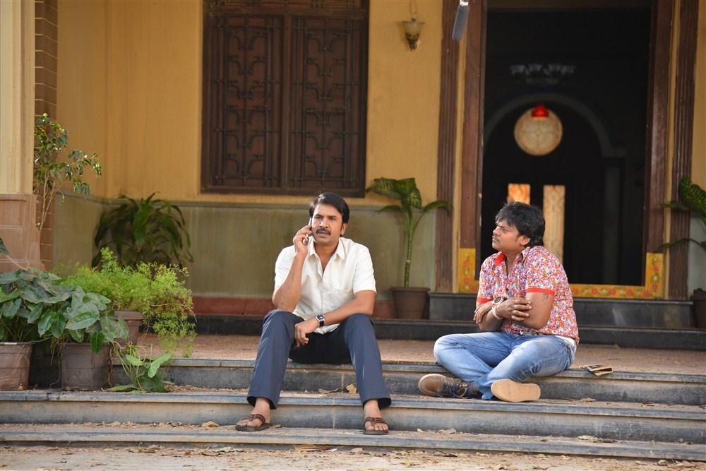 Srinivas Reddy, Shakalaka Shankar @ Anando Brahma Working Photos