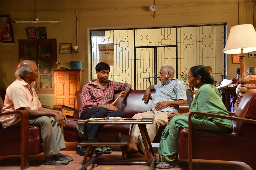 Vennala Kishore @ Anando Brahma Working Photos
