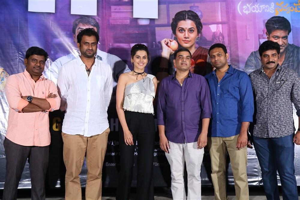 Anando Brahma Movie Success Meet Stills