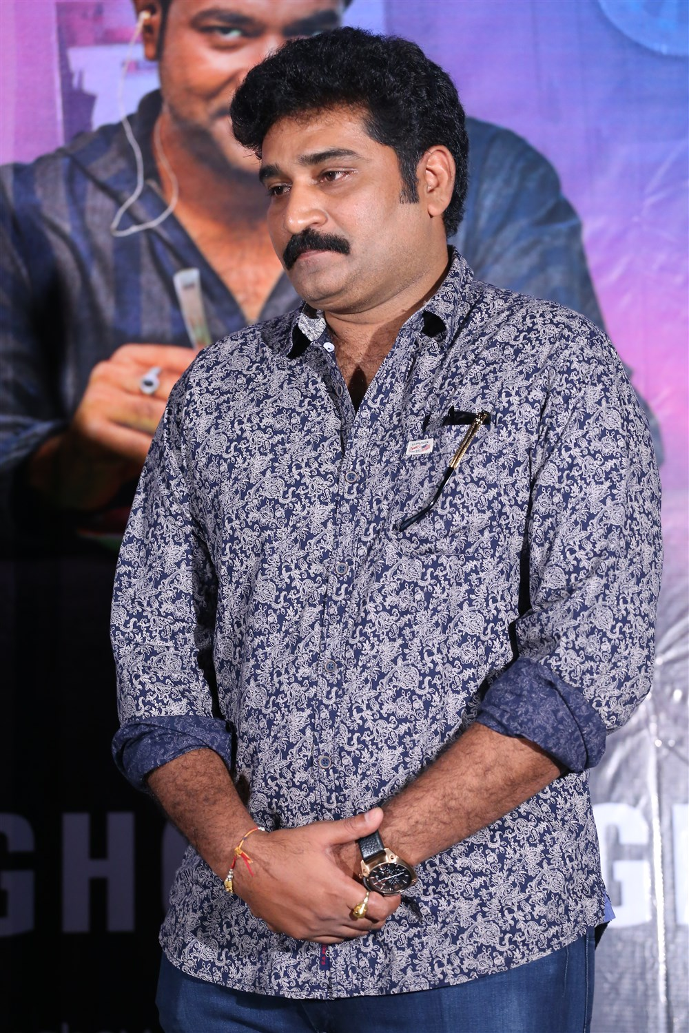 Rajeev Kanakala @ Anando Brahma Success Meet Stills