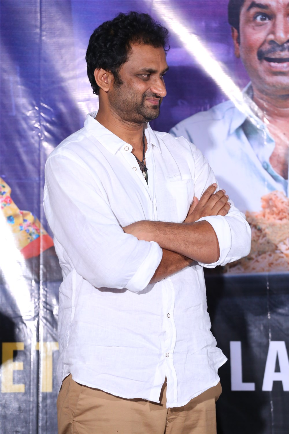 Director Mahi V Raghav @ Anando Brahma Success Meet Stills