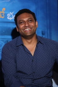 Director Mahi V Raghav @ Anando Brahma Movie Trailer Launch Stills