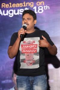 Actor Shakalaka Shankar @ Anando Brahma Movie Trailer Launch Stills