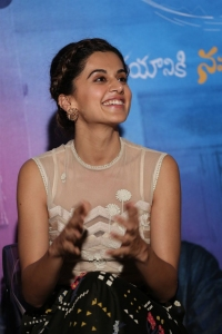 Taapsee Pannu @ Anando Brahma Movie Trailer Launch Stills