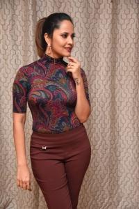 Actress Anasuya Bharadwaj Photos @ Meeku Maathrame Chepta Trailer Launch