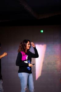 Actress Anasuya Bharadwaj Photos @ Meeku Maathrame Cheptha Trailer Launch