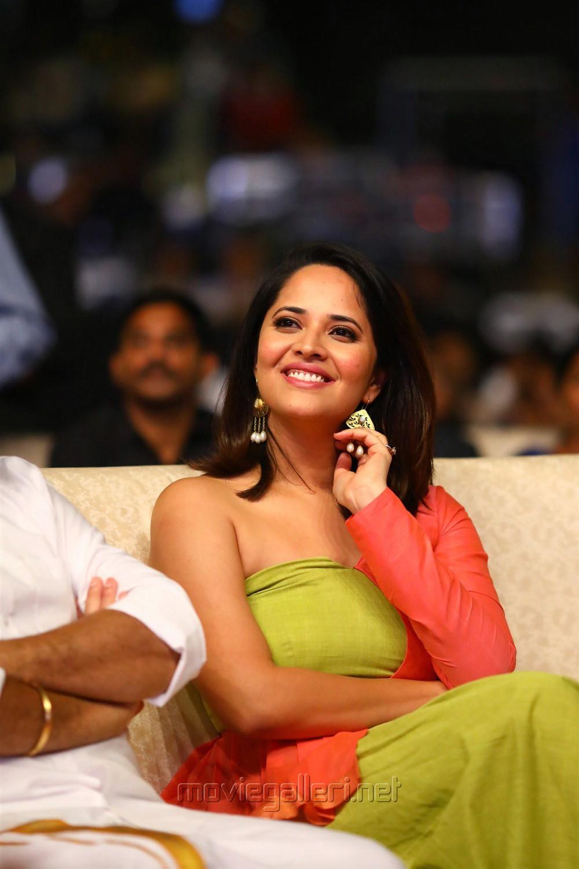 Anasuya Bharadwaj Cute Pics @ Rangasthalam Vijayotsavam Success Meet