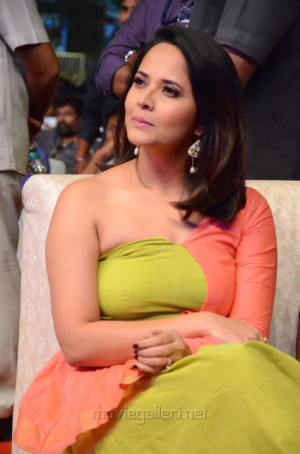 Actress Anasuya Bharadwaj New Pics @ Rangasthalam Vijayotsavam