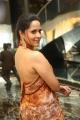 Actress Anasuya Bharadwaj Saree Pics @ Rangasthalam Thank You Meet