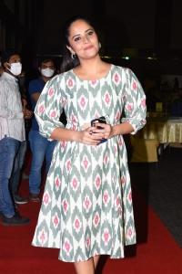 Actress Anasuya New Pics @ Crazy Uncles Pre Release