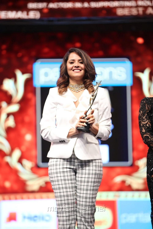 Actress Anasuya Cute Photos @ SIIMA Awards 2019 Day 1