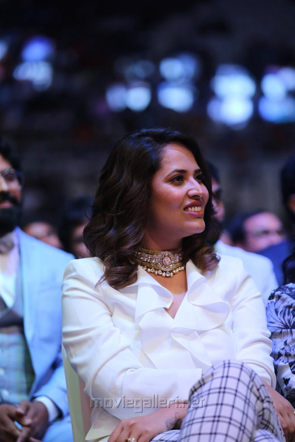 Actress Anasuya Bharadwaj Cute Photos @ SIIMA Awards 2019 Day 1