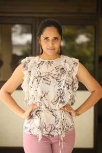 Kathanam Movie Actress Anasuya Interview Images