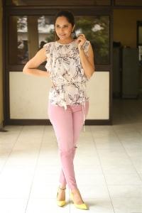 Heroine Anasuya Images @ Kathanam Movie Interview