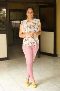 Kathanam Movie Heroine Anasuya Interview Images