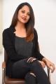 Heroine Anasuya Images @ Meeku Maathrame Cheptha Interview