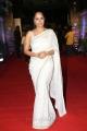 Telugu Actress Anasuya Bharadwaj in White Saree Images