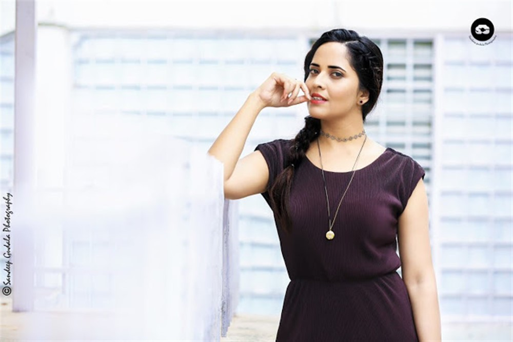 Anchor Anasuya Latest Photoshoot Pics 2018