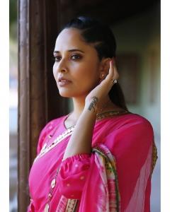 Anchor Anasuya Bharadwaj Latest Saree Photoshoot Stills
