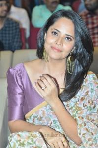 Actress Anasuya Bharadwaj New Saree Images @ F2 Movie 50 Days Function