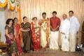 Sundar C, Kushboo at Anbalaya Prabhakaran Son Marriage Stills