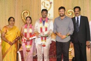 Sathyaraj @ Anbalaya Prabhakaran Son Wedding Reception