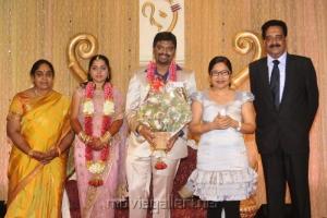 Kovai Sarala @ Anbalaya Prabhakaran Son Wedding Reception