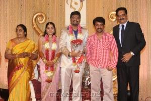 Cheran @ Anbalaya Prabhakaran Son Wedding Reception