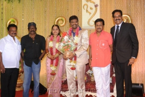 Ramarajan @ Anbalaya Prabhakaran Son Wedding Reception