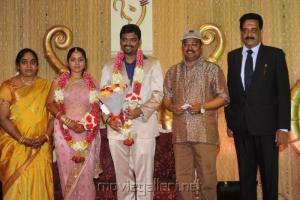 K.Bhagyaraj @ Anbalaya Prabhakaran Son Wedding Reception
