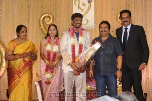 Mano @ Anbalaya Prabhakaran Son Wedding Reception