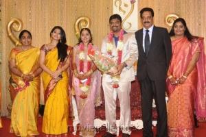 Actress Sneha @ Anbalaya Prabhakaran Son Wedding Reception
