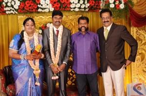 Nakkeeran Gopal @ Anbalaya Prabhakaran's Daughter Wedding Pictures