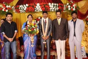 Vijay Antony @ Anbalaya Prabhakaran's Daughter Wedding Pictures