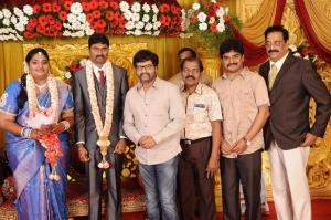 Vivek, Cell Murugan @ Anbalaya Prabhakaran's Daughter Wedding Pictures