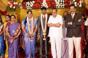 AVM Saravanan @ Anbalaya Prabhakaran's Daughter Wedding Pictures