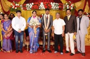 Anandraj, SA Chandrasekar @ Anbalaya Prabhakaran's Daughter Wedding Pictures