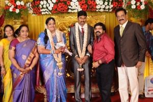 T Rajendar @ Anbalaya Prabhakaran's Daughter Wedding Pictures