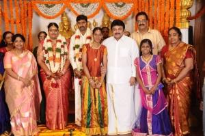Prabhu @ Anbalaya Prabhakaran's Daughter Wedding Pictures