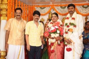 Director Bala @ Anbalaya Prabhakaran's Daughter Wedding Pictures