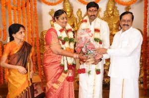 H Raja @ Anbalaya Prabhakaran's Daughter Wedding Pictures