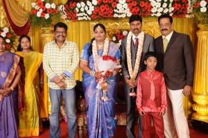 KS Ravikumar @ Anbalaya Prabhakaran's Daughter Wedding Pictures