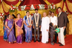 Anbalaya Prabhakaran's Daughter Wedding Pictures