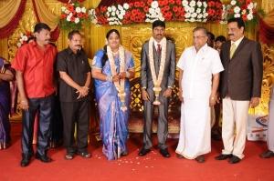 Ila Ganesan @ Anbalaya Prabhakaran's Daughter Wedding Pictures