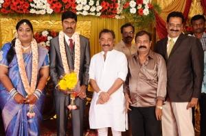 Deva @ Anbalaya Prabhakaran's Daughter Wedding Pictures
