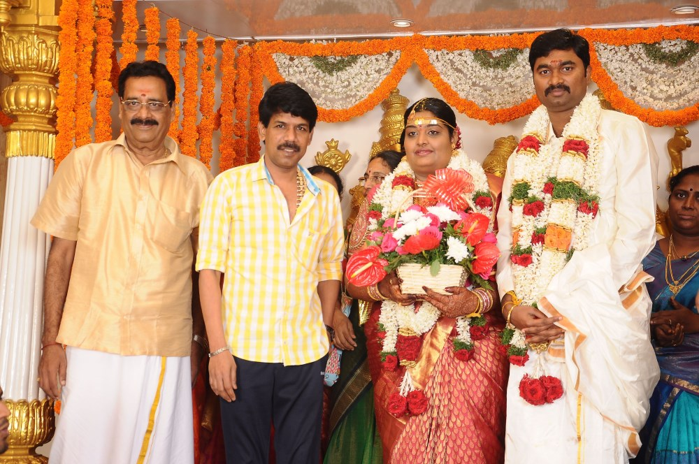 Director Bala Anbalaya Prabhakarans Daughter Wedding Pictures