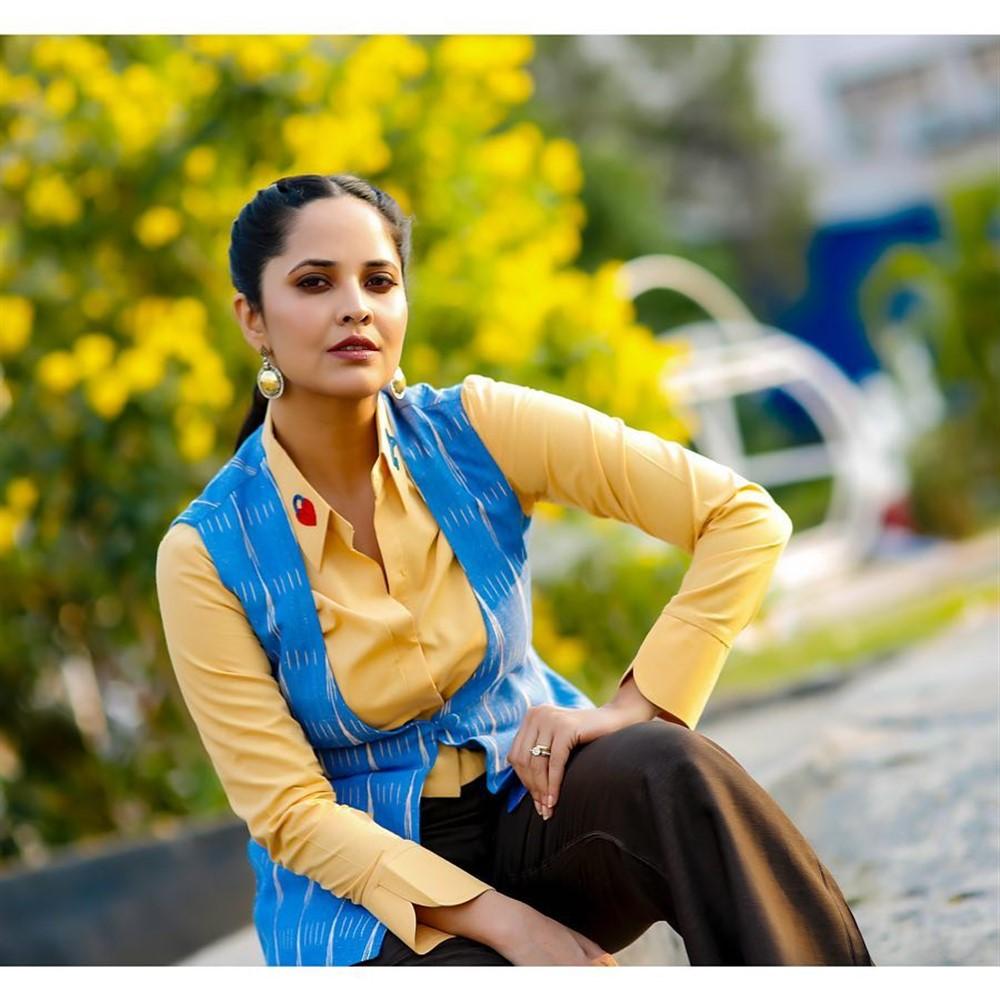 Telugu Anchor Anasuya Bharadwaj Photoshoot Pics